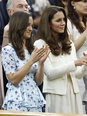 Kate Middleton and Pippa Middleton | Wimbledon 2012 | Pictures | Photos | new | celebrity news