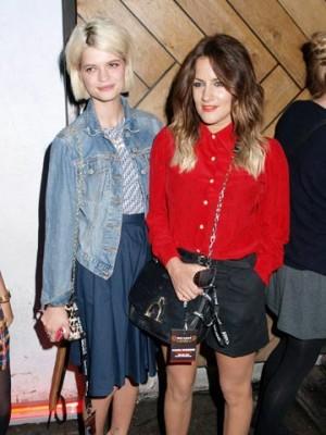 Pixie Geldof and Caroline Flack | Celebrity Spy | new | Pictures | Photos | Celebrity News