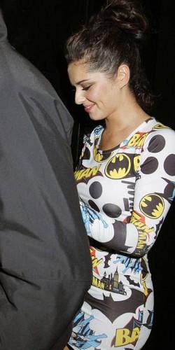 469e3de218f1d Little Mix singer Jesy Nelson copies Cheryl Cole's Batman dress ...