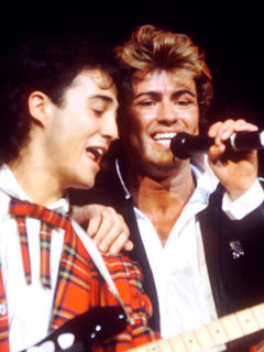 ridgeley black singles Former wham star andrew ridgeley has shunned the limelight  bad girl on it in big black  selling christmas singles of all time started off as wham.