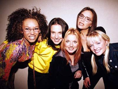 d1ddf458461 The Spice girls bring back girl power at Viva Forever press launch ...