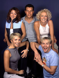 Steps - Lisa Scott-Lee, Claire Richards, Lee Latchford-Evans, Faye Tozer and Ian 'H' Watkins