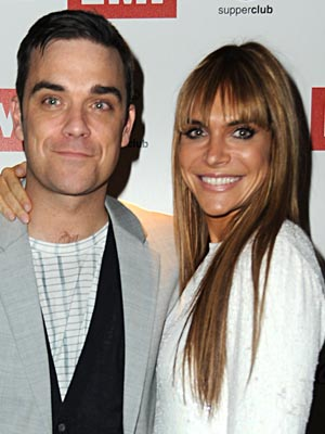 Robbie Williams and Ayda Field | celebrity lookalike couples | pictures | celebrities | now magazine