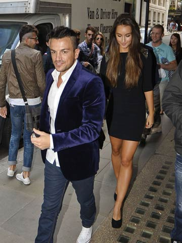 Peter Andre And Emily Macdonagh Pictures Photos New Celebrity News