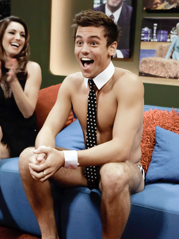 Tom Daley | Jonathan Ross show | Naked | New pictures