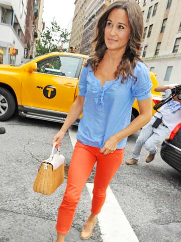 Pippa Middleton's colourful week in NYC  Fashion news  Now Magazine  Celebrity Gossip