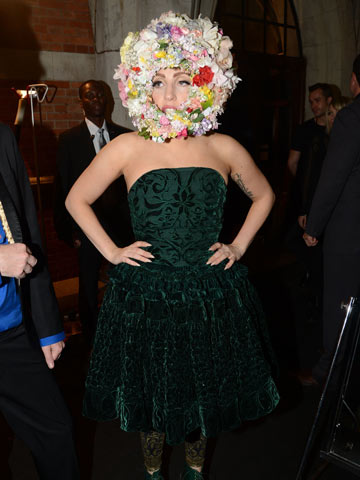 Lady Gaga | London Fashion Week 2012 | Pictures | Photos | Celebrity Fashion