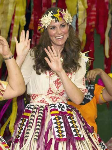 Kate Middleton | Tuvalu Diamond Jubilee Tour | Pictures | Photos | new | Celebrity News