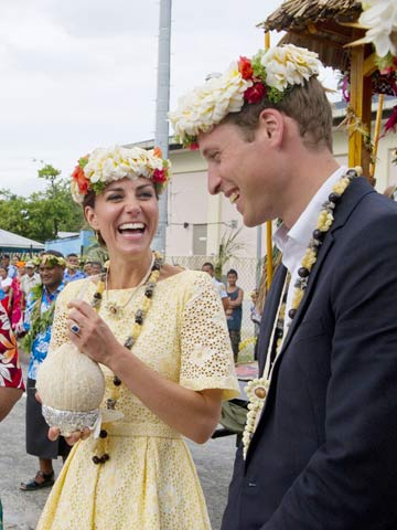 Prince William and Kate Middleton | Tuvalu Diamond Jubilee Tour | Pictures | Photos | new | Celebrity News
