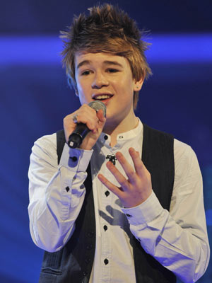 Eoghan Quigg | The X Factor live shows | Now Magazine| Celebrity Gossip