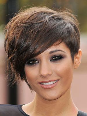 Frankie Sandford | Celebrity hair | Short styles | Pictures | Now Magazine | Celebrity Gossip