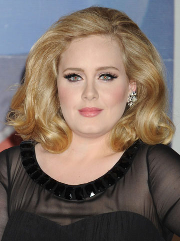 Adele | Celebrity hair at the Brit Awards 2012 | Pictures | Photos | New | Celebrity News