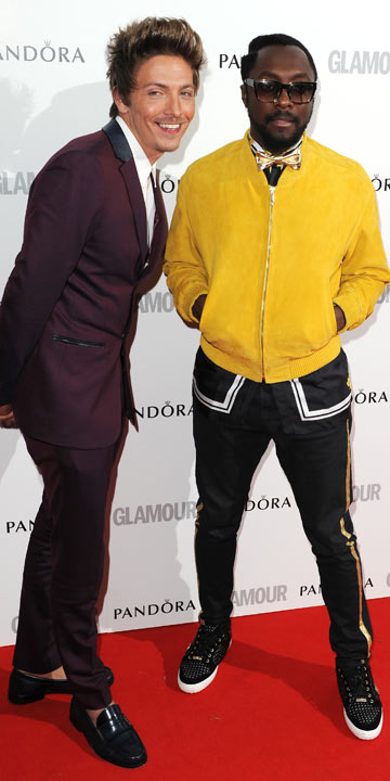 Tyler James and Will.i.am | Glamour Woman Of The Year Awrds 2012 | Pictures | Photos | New | Celebrity News