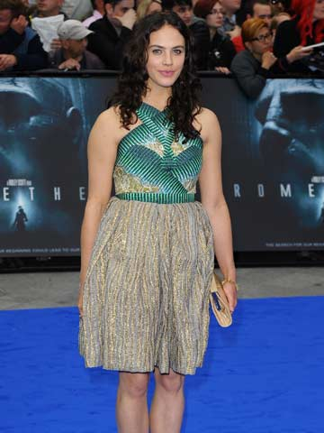 Jessica Brown Findlay | Prometheus film premiere | Leicester Square London | New | Pictures | Photos | Celebrity News | Now Magazine