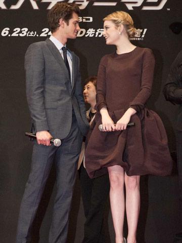 Andrew Garfield Emma Stone   celebrity spy   new   pictures   photos   celebrity news