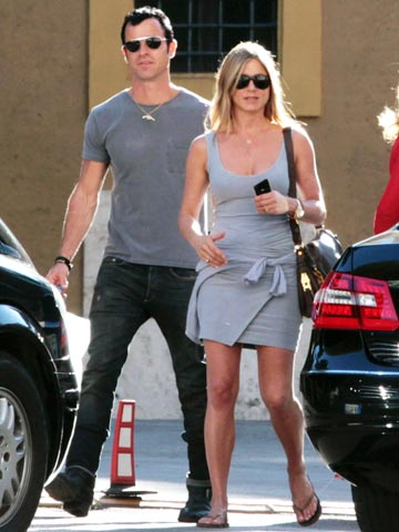 Jennifer Aniston and Justin Theroux | Pictures | Photos | new | Celebrity Spy