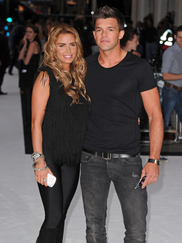 Katie Price and Leandro Penna | Total Recall London premiere | Pictures | Photos | new | Celebrity News