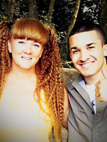 Jahmene Douglas and his mum | The X Factor 2012 | Pictures