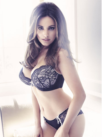 Kelly Brook lingerie for New Look| Fashion News| Now Magazine| Celebrity Gossip