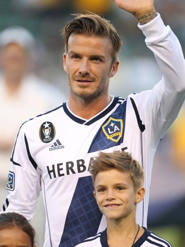 David Beckham and Romeo Beckham   Los Angeles   Pictures   Photos   new   Celebrity News