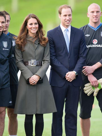 Kate Middleton and Prince William | The Football Association's National Football Centre Launch | Pictures | Photos | New | Celebrity News