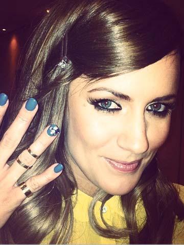 Caroline Flack   X Factor   Nails   Beauty News  