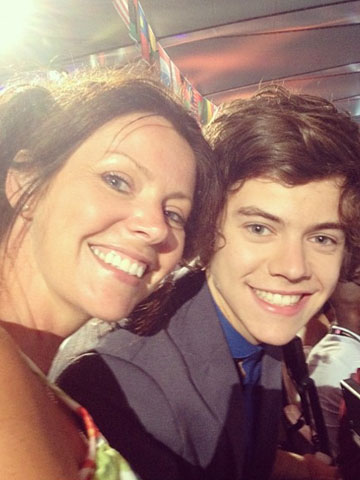 Harry Styles and Anne Cox | Pictures | Photos | New | Celebrity News