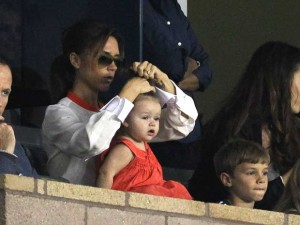 Victoria Beckham, Harper Beckham and Romeo Beckham | Football Match | Los Angeles | Pictures | Photos | new | Celebrity News