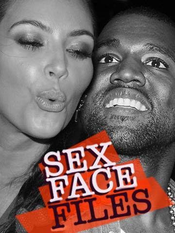 Kim Kardashian | Kanye West | Sex faces | Pictures | Now | Photos