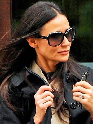 Demi Moore | Celebrity hair | Pictures | New styles | Latest | Hair | Now | Photos | Hairstyles