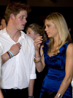 Is prince harry still dating chelsy davy 2012