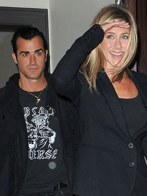 Justin Theroux and Jennifer Aniston | Pictures | Photos | New | Celebrity News