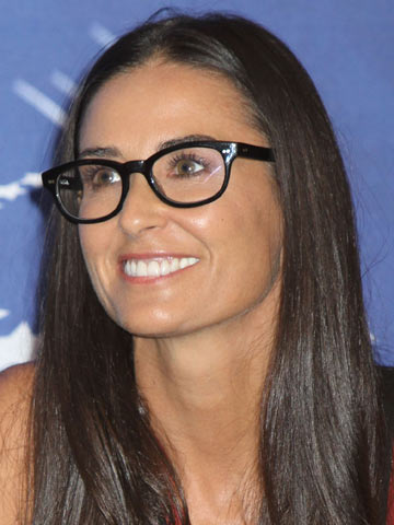 Demi Moore | Celebrities wearing glasses | Pictures | Photos | New | Celebrity News