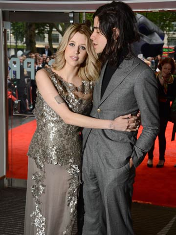 Peaches Geldof and Thomas Cohen | The Dark Knight Rises | London | Pictures | Photos | New | Celebrity News