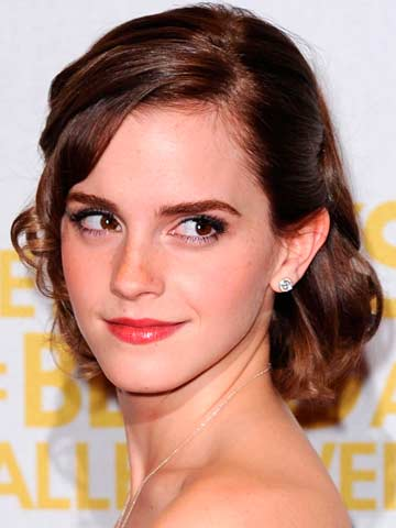 Emma Watson | Celebrity hair | Pictures | New styles | Latest | Hair | Now | Photos | Hairstyles