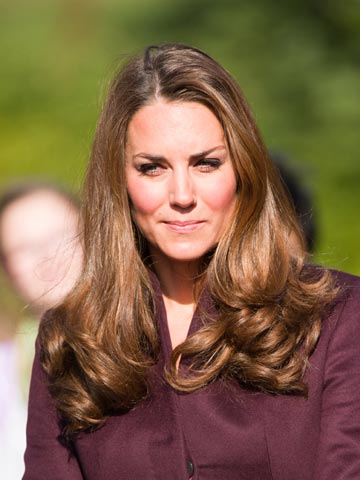 todays hair obsession kate middletons glossy do
