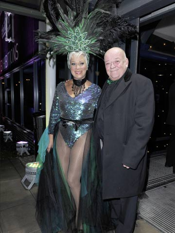 Coronation Street Stars Dress Up For Rio Carnival Charity Ball Hosted By Denise Welch