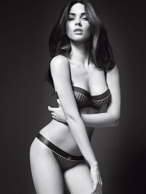 Megan Fox | Megan Fox strips off for Armani campaign |pictures | now magazine | celebrity gossip