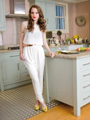 At home with Rosie Fortescue | Now Shoot May 2012 | Pictures | Photos | New | Celebrity News