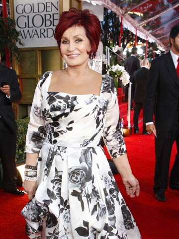 Sharon Osbourne | Golden Globes 2012 | Pictures | Photos | New | Celebrity News