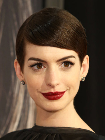 Anne Hathaway | Best Short Hair 2012 | Pictures | Photos | New | Celebrity Hair
