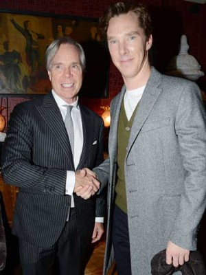 Tommy Hilfiger and Benedict Cumberbatch | London Collections | photos | pictures | new