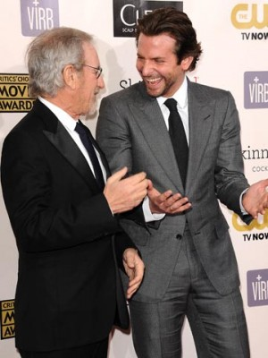 Bradley Cooper and Steven Spielberg  | Pictures | Photos | New | Celebrity News
