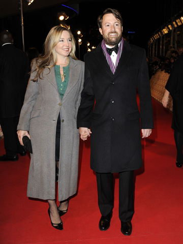 Aw David Mitchell And New Wife Victoria Coren Step Out As A