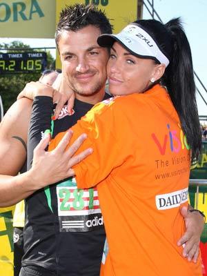 Katie Price | Flora London Marathon 2009 | Pictures | Now Magazine | Celebrity Gossip | Celebrity News