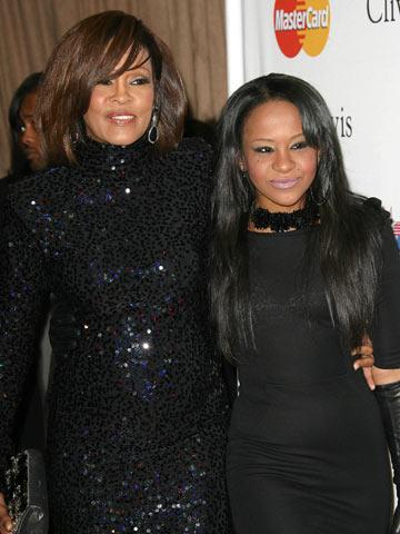 Whitney Houston and Bobbi Kristina Brown | New | Pictures | Photos | Celebrity News | Now Magazine