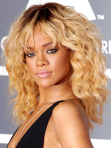 Rihanna | Celebrity hair at the Grammys 2012 | Pictures | Photos | New | Celebrity News