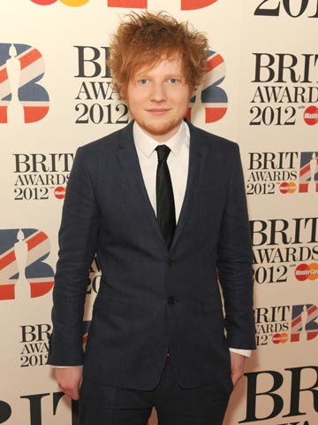 Ed Sheeran | The Brit Awards 2012 | Pictures | Photos | New | Celebrity News