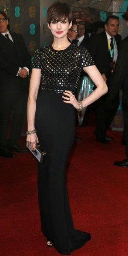 Anne Hathaway | BAFTA Film Awards 2013 | Pictures | Photos | New | Celebrity News