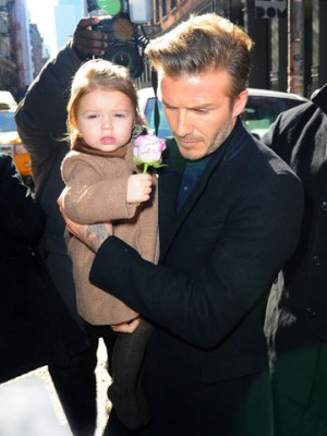 David Beckham and Harper Seven | David Beckham and Victoria Beckham in New York | New York | Pictures | Photos | new | Celebrity News
